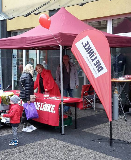 Infostand am Ostersamstag